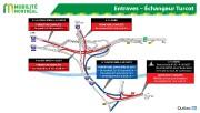 De fermetures d'autoroute sans précédent prévues dans l'échangeur... (IMAGE FOURNIE PAR MOBILITÉ MONTRÉAL) - image 1.0