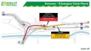 De fermetures d'autoroute sans... (image fournie par mobilité montréal) - image 4.0