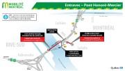 Entraves –  Pont Honoré-Mercier (Groupe CNW/Ministère des... (image fournie par mobilité montréal) - image 4.1