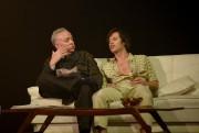 Guy Jodoin etMickaël Gouin dans la pièceBilan, de... (photo Yves Renaud, fournie par le TNM) - image 3.0