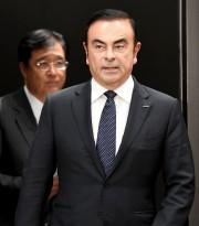 Carlos Ghosn, alors président du conseil de Nissan,... - image 3.0