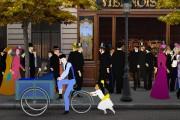 Une scène tirée de Dilili à Paris... (Photo fournie par Axia Films) - image 5.0