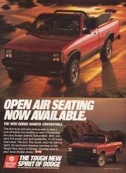 Dodge a déjà offert un pickup décapotable. Photo... - image 3.0