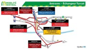 Les fermetures combinées de l'autoroute15 Sud, dans l'échangeur Turcot, et de... - image 2.0