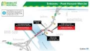 Les fermetures combinées de l'autoroute15 Sud, dans l'échangeur Turcot, et de... - image 4.0