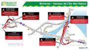 Les fermetures combinées de l'autoroute15 Sud, dans l'échangeur Turcot, et de... - image 5.0