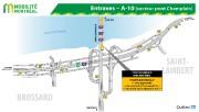 Les fermetures combinées de l'autoroute15 Sud, dans l'échangeur Turcot, et de... - image 6.0