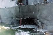 Le USS Cole a été la cible d'un... (PHOTO ARCHIVES REUTERS) - image 3.0