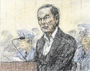Carlos Ghosn a semblé amaigri après sept semaines... (Dessin : Nobutoshi Katsuyama, agence Kyodo via Reuters) - image 5.0