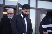 Jaskirat Singh Sidhu quitte le tribunal après avoir... (Photo Kayle Neis, PC) - image 2.0