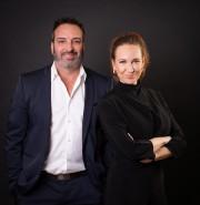 Patrick Fontaine (fondateur) et Melissa McGrail (directrice générale)... (photo fournie parLekla) - image 1.0