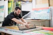 L'artiste Jason Cantoro au travail... (Photo Edouard Plante-Fréchette, La Presse) - image 2.0