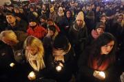 Un rassemblement pour rendre hommage à Pawel Adamowicz... (AP) - image 2.0