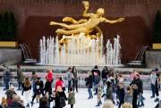 La patinoiredu Rockefeller Center fait partie des attractions... (Photo AlainRoberge, Archives La Presse) - image 2.0