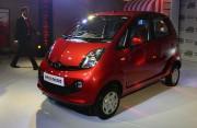 Le constructeur automobile indien Tata Motors... (Photo PUNIT PARANJPE, AFP) - image 2.0