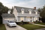 Le toit de bardeaux solaires de Tesla. Photo... - image 5.0