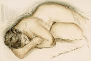 Nu féminin endormi, 1940, Louis Muhlstock (1904-2001), fusain,... (Photo fournie par le MBAM) - image 3.0