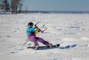Il est plus facile de faire du kite... (Photo Yves Keroack, fournie par Parc-nature Montréal) - image 3.0