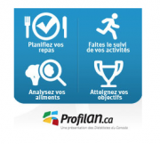 Développée par les Diététistes du Canada, ProfilAN permet... (Image tirée du site internet de ProfilAN) - image 6.0