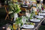 Beaucoup de verdure sur cette table préparée en... (Photo Amrita Stuetzle, The New York Times) - image 5.0