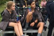 Émilie Bierre et Jason Whiteduck-Lavoie sur le tournage... (Photo fournie par Colonelle Films) - image 6.0
