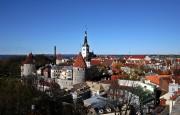 La vieille ville de Tallinn figure parmi les... (photo DIMITAR DILKOFF, agence france-presse) - image 9.0