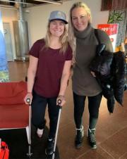 ValŽérie Grenier et Lindsey Vonn... (Photo tirée de Facebook) - image 3.0