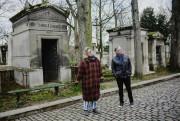 Safia en promenade au cimetière du Père-Lachaise à... (PhotoJulien Pebrel, collaboration spéciale) - image 3.0