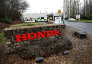 L'entrée de l'usine Honda de Swindon, où les... (Photo EDDIE KEOGH, REUTERS) - image 2.0