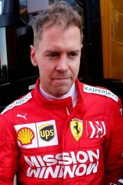 Sebastien Vettel lors des essais de cet après-midi... (Photo ALBERT GEA, REUTERS) - image 2.0