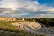 Taillé à même le roc, le théâtre grec... (Photo Getty Images) - image 4.0