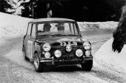 Une Mini en action au Rallye de Monte-Carlo... (Photo fournie par Mini) - image 2.0
