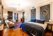 La chambre bleue des invités, où a dormi... (PHOTO FOURNIE PAR SOTHEBY'S INTERNATIONAL REALTY) - image 4.0