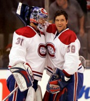 Carey Price et Cristobal Huet... (PHOTO BERNARD BRAULT, ARCHIVES LA PRESSE) - image 3.0