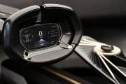 L'indicateur de vitesse de l'Aston Martin Lagonda All-Terrain... (PHOTO HAROLD CUNNINGHAM, AFP) - image 2.0