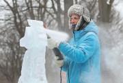 Nicolas Godon à la Fête des neiges, le... (PHOTO ROBERT SKINNER, LA PRESSE) - image 2.0
