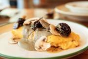 L'omelette de la cabane, roulée avec crème de... (PHOTO HUGO-SÉBASTIEN AUBERT, LA PRESSE) - image 3.0
