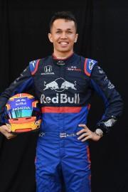 Le Thaïlandais Alexander Albon, de l'écurie Toro Rosso,... (PHOTO WILLIAM WEST, AFP) - image 5.0