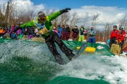 Le Splash, concours amical de traversée de bassin,... (PHOTO ALAIN BLANCHETTE, FOURNIE PAR LE MASSIF DE CHARLEVOIX) - image 4.0