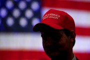 La casquette emblématique de la campagne présidentielle de... (AP) - image 1.0