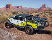 Le Jeep Gladiator Flatbill permet d'amener deux motos... (PHOTO JEEP) - image 5.0