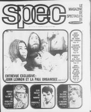 Le magazine Spec, encarté dans La Presse, a... (PHOTO LA PRESSE) - image 8.0
