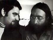 AndréPerry et JohnLennon au bed-in de JohnLennon et... (PHOTO FOURNIE PAR ANDRÉPERRY) - image 14.0