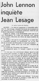 Article publié dans La Presse du 30mai1969... (PHOTO ARCHIVES LA PRESSE) - image 18.0