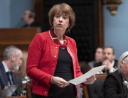 Hélène David, députée libérale et porte-parole de l'opposition officielle en... (PHOTO JACQUES BOISSINOT, ARCHIVES LA PRESSE CANADIENNE) - image 3.0