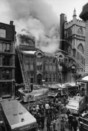 Incendie à la basilique Notre-Dame, à Montréal, en... - image 2.0