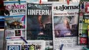 Partout dans le monde les journaux affichaient largement... (AFP) - image 5.0