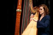 La harpiste Valérie Milot... (PHOTO DAVID BOILY, LA PRESSE) - image 3.0