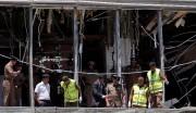 Les vitres de l'hôtel Shangri-La ont été soufflées... (PHOTO DINUKA LIYANAWATTE, REUTERS) - image 8.0