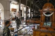 La violence de l'explosion a causé d'importants dégâts... (PHOTO ISHARA S. KODIKARA, AGENCE FRANCE-PRESSE) - image 5.0